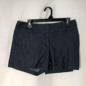 Ann Taylor 6 Shorts Signature Blue 919